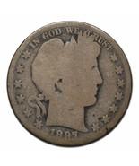 1897O Barber Half Dollar Silver Semi Key Date Coin - $85.22