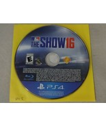 EUC MLB The Show 16 Sony Playstation 4 PS4 Game Disc Only Free Ship - $13.85