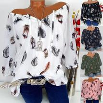 Fallen Feathers Flowing Layers Blouse - $13.58