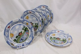"Nikko Remember When Dinner Plates 10.75"" Set of 6 - $64.67"