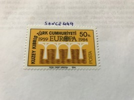 Cyprus Turkish Europa 50tl 1984 mnh  - $1.00
