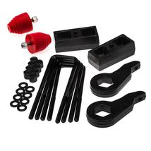 "HM Fits 92-99 6Lug 4WD GMC Yukon 1""-3"" FT 1"" RR Lift Level Kit 4X4 w/ Bump Stops - $201.35"