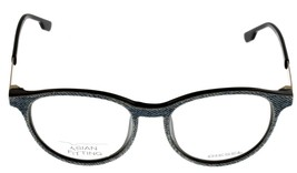 New Diesel Unisex Blue Jeans Black Eyeglasses Frame Oval DL5117 002 - $78.21