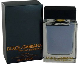 Dolce & Gabbana The One Gentlemen 3.4 Oz Eau De Toilette Cologne Spray image 2