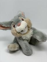 "Disney Store Thumper Bean Bag Plush 12"" Gray Bunny Bambi Rabbit Friend L... - $14.85"