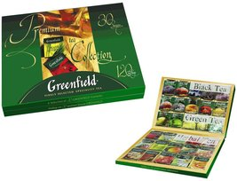 Greenfield Tea, Premium Collection, 120 Count - $53.34