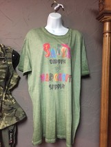 Salsa Dippin and Margarita Sippin Bling Green Shirt Women's Size Large - $25.00