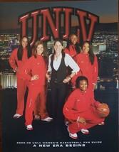 2008-09 University of Nevada Las Vegas UNLV Women's Basketball Fan Guide - $9.95