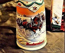 Budweiser 1996 Holiday Stein AB 246 image 3