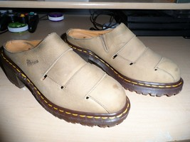 Dr Marten Rare 8180 Made In England Shoes Sandals Slip On Uk Size 5 Us Size 7 - $37.00
