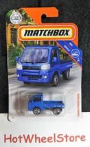 2019  Matchbox  Blue  SUBARU SAMBAR TRUCK    MBX Service  Card #82   MB1... - $2.50