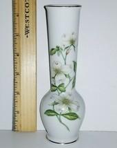 """LEFTON bud vase 6"""" handpainted - $14.25"""