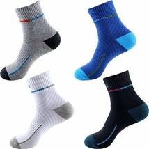 PANDA SUPERSTORE Set of 4 Mens Cool Quick-Dry Socks Outdoor Sports Socks... - £25.07 GBP
