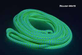 Blacklight Bi-Color GloLine Luminescent Roping- Yellow White - £6.14 GBP+