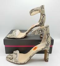 Vince Camuto VP Bendiva Snake Print Leather Block Heels/Shoes [Size 9.5] NEW - $45.53