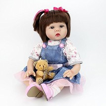 CHAREX Belly Reborn Baby Doll, 22'' Realistic Weighted Reborn Toddler Gi... - $55.64