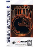 Mortal Kombat Trilogy Sega Saturn Great Condition Fast Shipping - $139.93