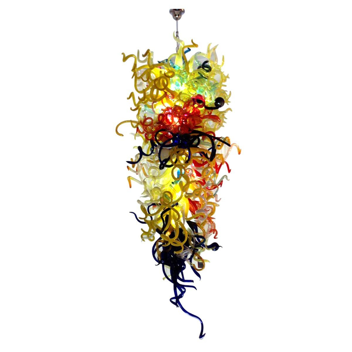 Ultra Glow Hand Blown Chandelier