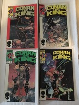 Conan The King 24 25 26 27 Marvel Comic Book Lot 1984-85 VF Condition - $7.19