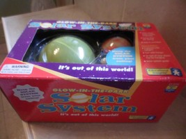 Glow In The Dark 3D Solar System Kids Room Decoration Educational Planet... - $14.99