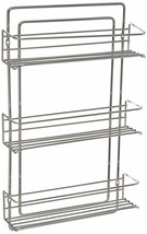 Shelf Shelves Bottle Spice Jar Rack Organizer Holder Wall Cabinet Mount ... - $58.88
