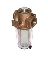 "GROCO ARG-500 Series 1/2"" Raw Water Strainer w/ Non-Metallic Plastic Basket - $169.99"