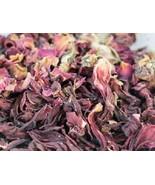 250 gm DRY HIBISCUS FLOWER PETAL /GUDHAL KE PHOOL  free shiping *au - $25.18