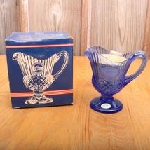 Vintage Blue Fostoria Avon Mount Vernon George ... - $34.58