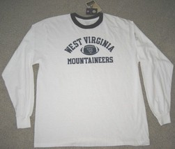 REEBOK WEST VIRGINIA MOUNTAINEERS SHIRT L LONG SLEEVE - $18.69