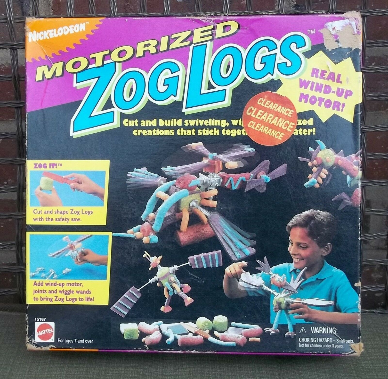 Primary image for Mattel Nickelodeon Motorized Zog Logs Activity Set NIB Cut and Build