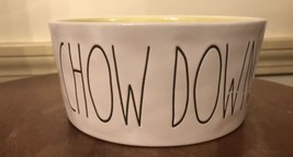 "Rae Dunn ""Chow Down"" Pet Bowl For Dogs - Artisan Collection By Magenta - $11.88"