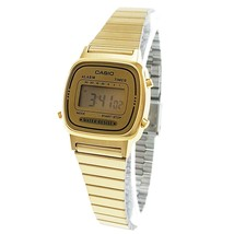 Casio Women's LA670WGA-9 Gold Stainless-Steel Quartz Watch with Digital ... - $39.54 CAD