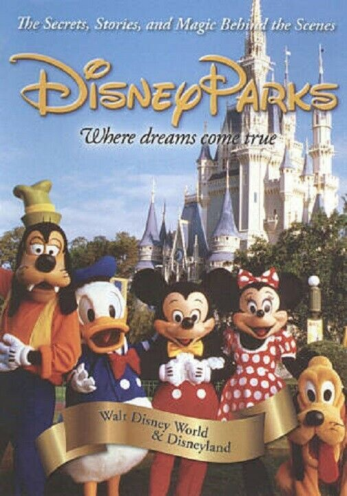 Disney Parks: Where Dreams Come True (2010 DVD) BRAND NEW / FACTORY SEALED  image 1