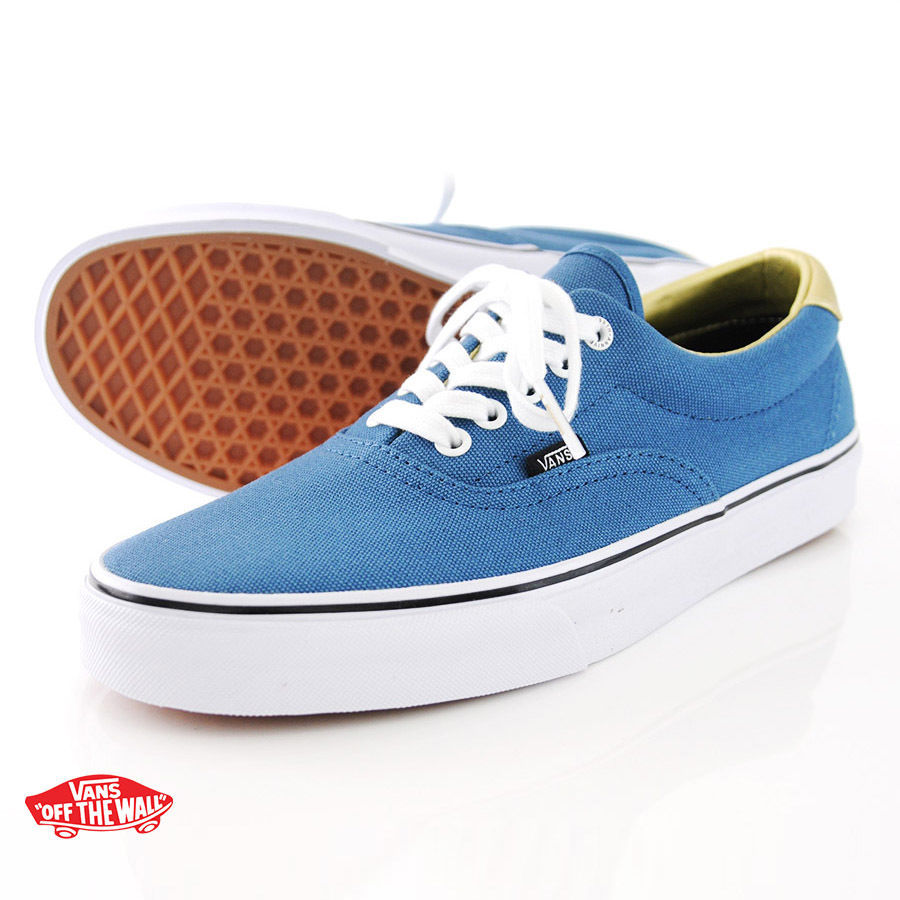 a3d5c60452bf NEW VANS ERA 59 50TH STV NAVY GOLD SZ MENS 13 SHOES ERA SK8 HI AUTHENTIC  BLUE -  46.71