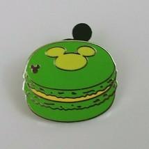 2015 Disney  Hidden Mickey 2 of 5 Macaron Green Trading Pin  - $6.79