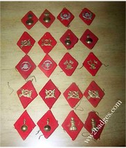 Rare WW2 OFFICERS COLLAR TABS, insignia badge - $34.65
