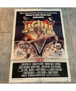 Vintage Movie theater poster ephemera 1979 Jaguar Lives Joe Lewis karate... - $49.45