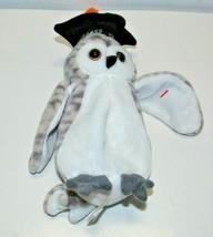 Wiser the Owl class of '99, Ty Original Beanie Baby, 1999 - £5.75 GBP