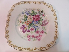 """RARE Royal Albert Nosegay square plate 6"""" Vintage Perfect Condition - $15.77"""