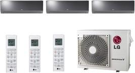 Lg - LMU24CHV Cooling/Heat Pump 20,000 Btu Outdoor, 3X LAN120HSV5 12,000 Btu Lg - $7,753.86