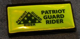 Patriot Guard Rider Reflective Armband with hid... - $19.00