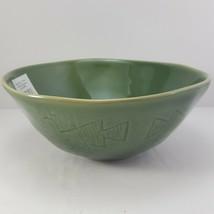 "Lenox Desert Flora Verde Soup Bowl 7"" Cereal Green Southwestern - $19.80"