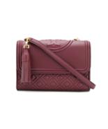 TORY BURCH Fleming Small Convertible Shoulder Bag 43834 Imperial Garnet ... - $220.00