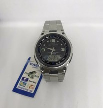 Casio AW82D-1AV Fishing Timer Moon Data Watch Steel Brand 10 Year Batter... - $28.70