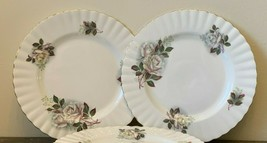 Royal Albert White Roses Salad Plates Set of 4 - $79.00