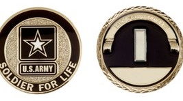 Challenge Coin Army Rank First Lieutenant Coin - $21.02