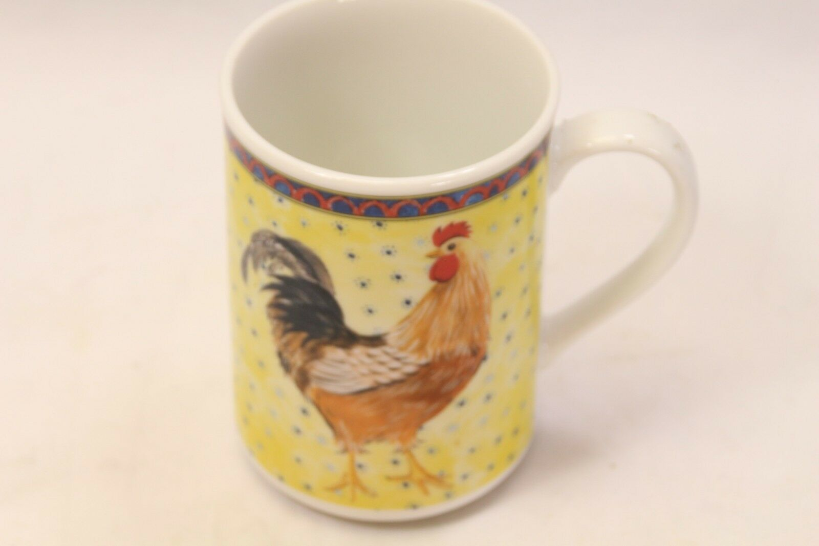 American Atelier Petite Provence Rooster Mugs Set of 12 image 4