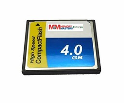 MemoryMasters 4GB Memory Card for Canon PowerShot A20 Compact Flash CF (... - $9.75