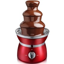 3 Tiers Stainless Steel Chocolate Fondue Fountain - $43.70