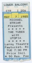 RARE The Tubes & Utopia 57/85 Pawtucket RI Ticket Stub! Todd Rundgren - $29.69